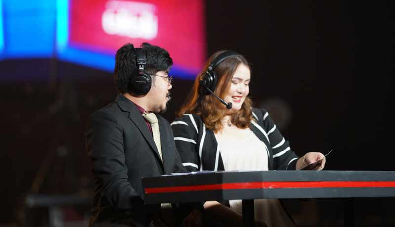 Velajave while working as a caster.