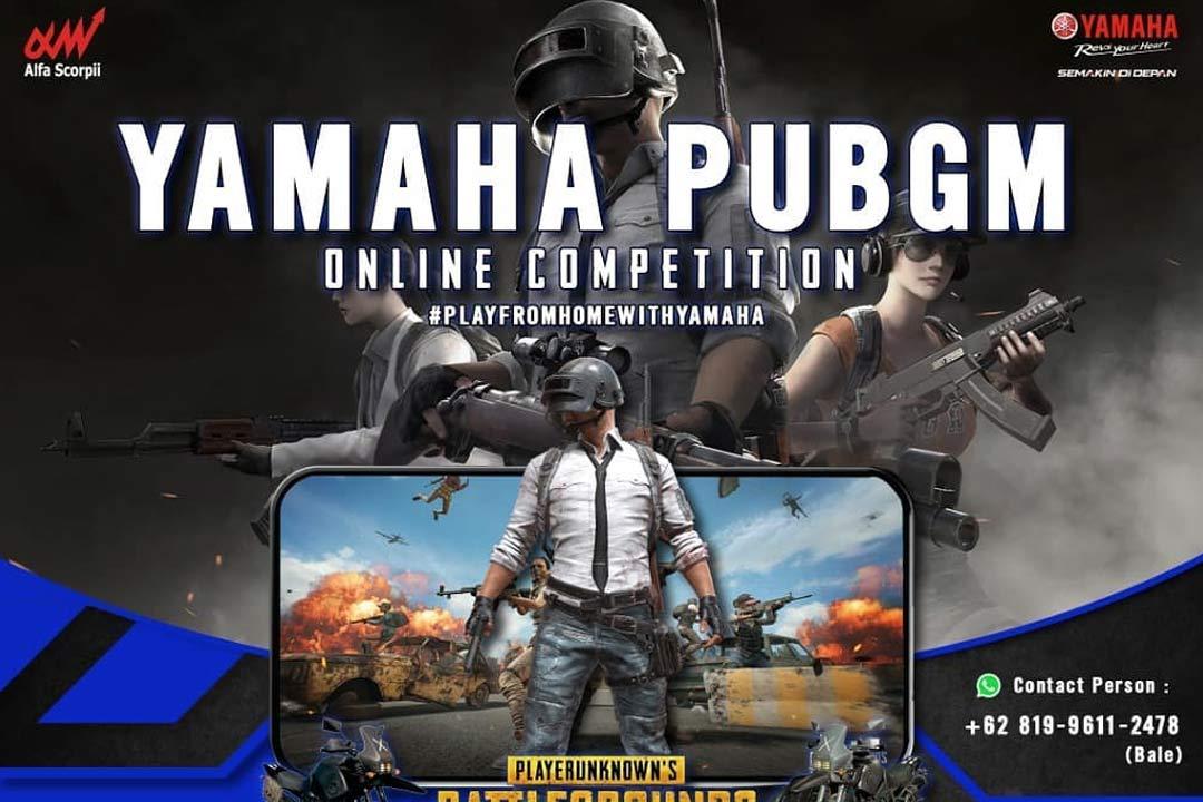 Yamaha PUBGM Online Competition